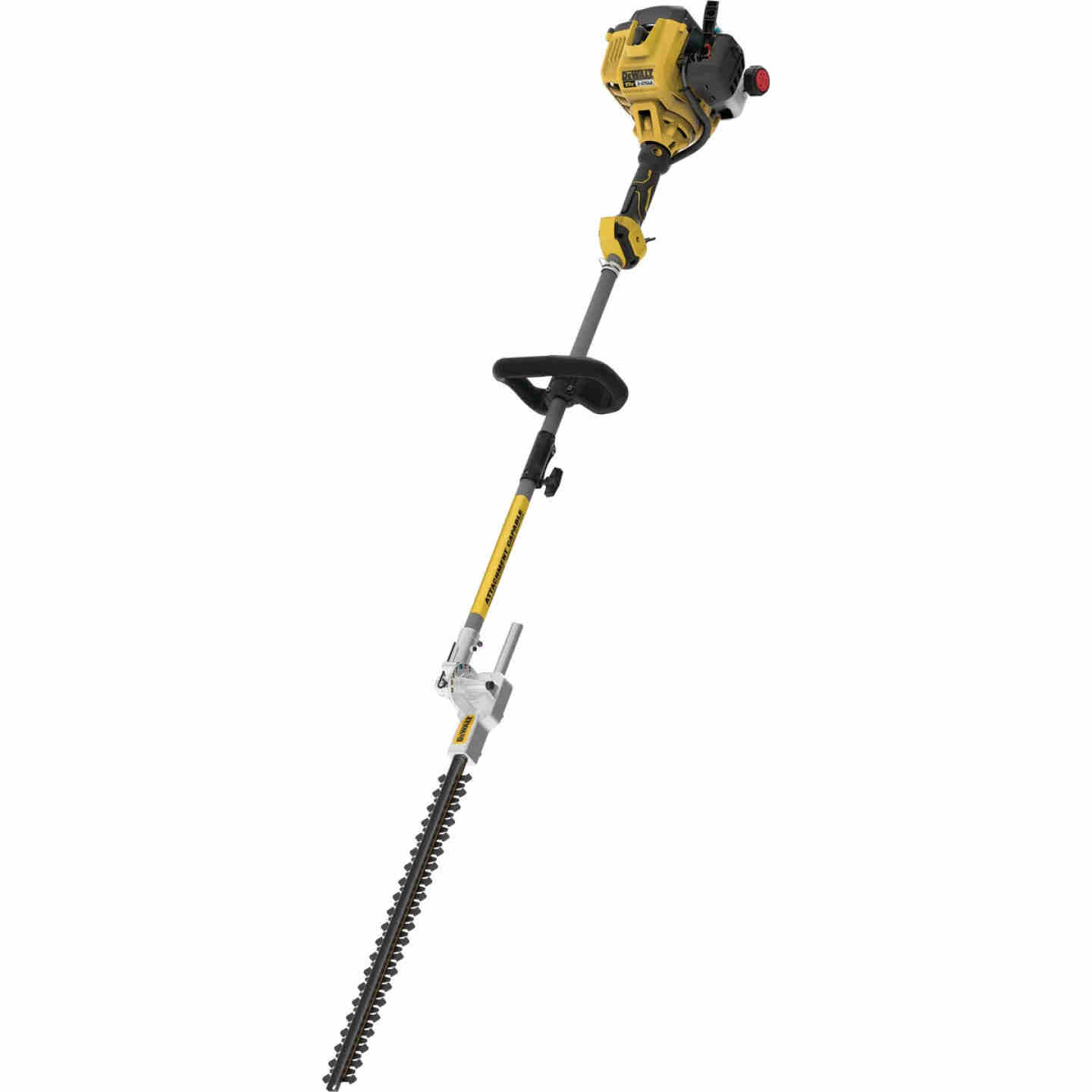 DeWalt Trimmer Plus 22 In. 27cc 2-Cycle Straight Shaft Pole Hedger Image 1