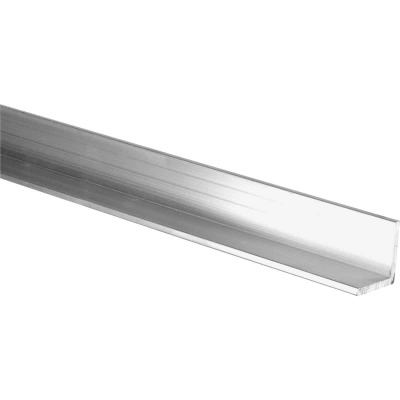 HILLMAN Steelworks Mill 1 In. x 3 Ft., 1/8 In. Aluminum Solid Angle