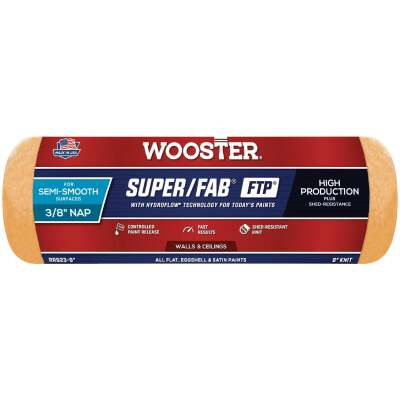 Wooster Super/Fab FTP 9 In. x 3/8 In. Knit Fabric Roller Cover