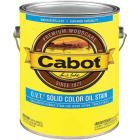 Cabot O.V.T. VOC Compliant Solid Color Exterior Stain, White Base, 1 Gal. Image 1