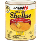 Zinsser Bulls Eye Clear Shellac, Quart Image 1