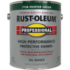 Rust-Oleum Gloss VOC for SCAQMD Professional Enamel, Hunter Green, 1 Gal. Image 1