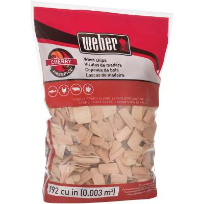 Weber FireSpice 192 Cu. In. Cherry Smoking Chips