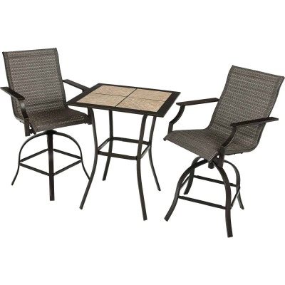 Outdoor Expressions Southfield 3-Piece Bistro Set