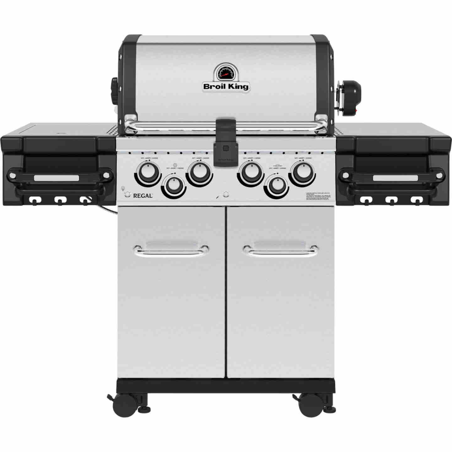 Broil King Regal S 490 Pro 4-Burner Stainless Steel 50,000 BTU LP Gas Grill Image 1