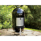 Weber Smokey Mountain Cooker 22 In. Dia. 726 Sq. In. Vertical Charcoal Smoker Image 4