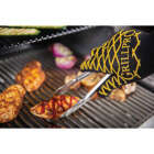 GrillPro One Size Fits Most Black & Yellow Heat Resistant Barbeque Mitt Image 2