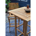 Outdoor Expressions 3-Piece Bar Height Bistro Set Image 4