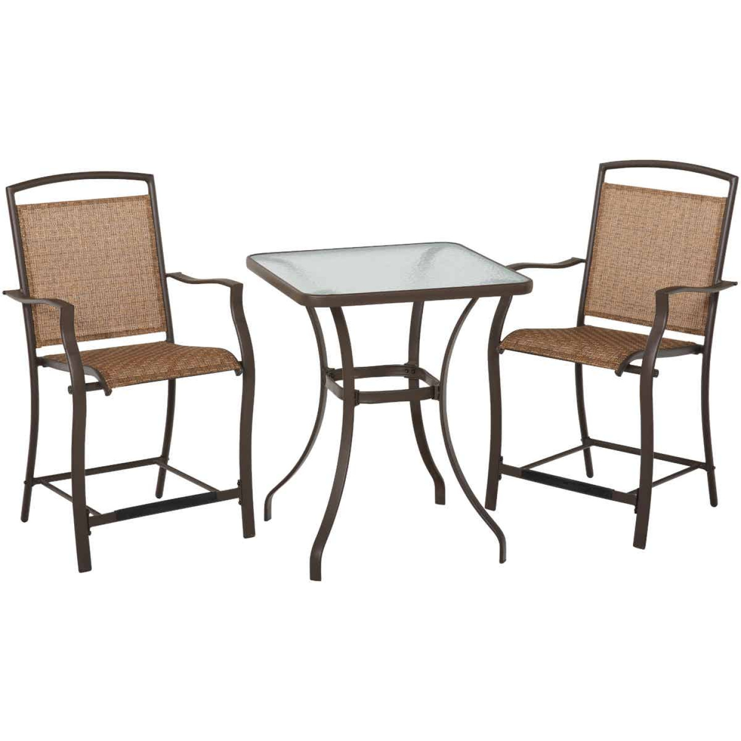Outdoor Expressions 3-Piece Balcony Bistro Set Image 1