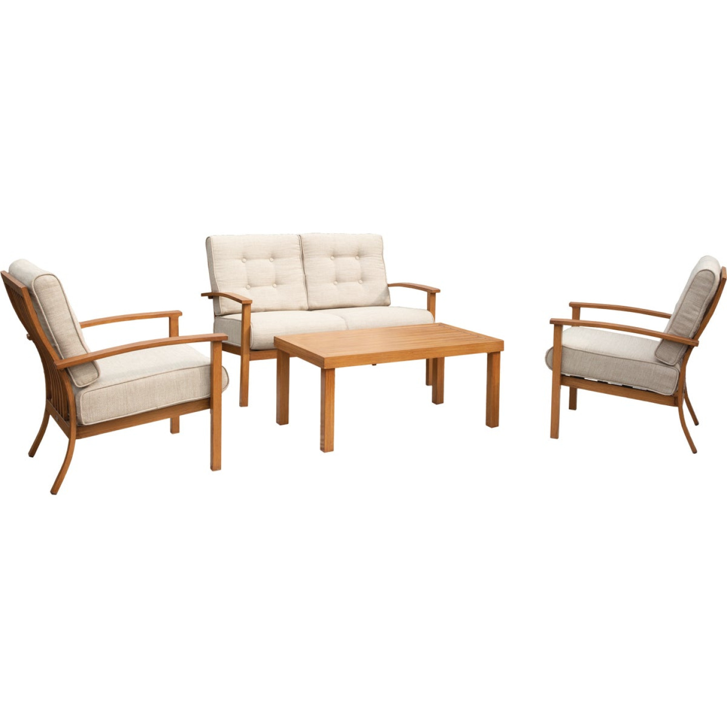 Leisure Classics Beaufort 4-Piece Chat Set Image 1