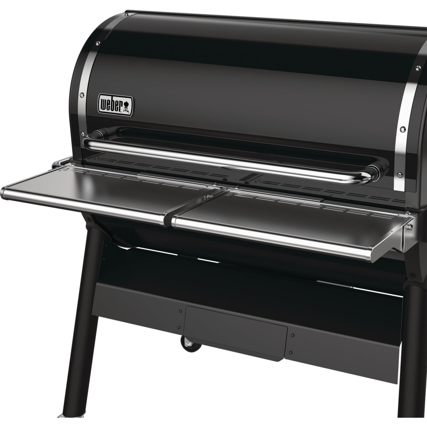 Weber SmokeFire EX6 Front Folding 21.66 In W. x 5.04 In. L. Stainless Steel Grill Shelf Image 2