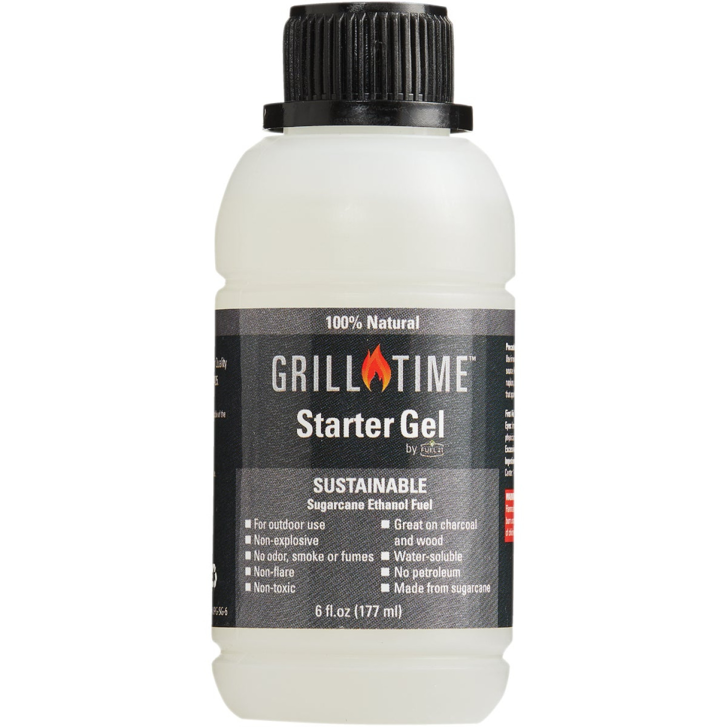 Grill Time 6 Oz. Charcoal Starter Gel Image 1